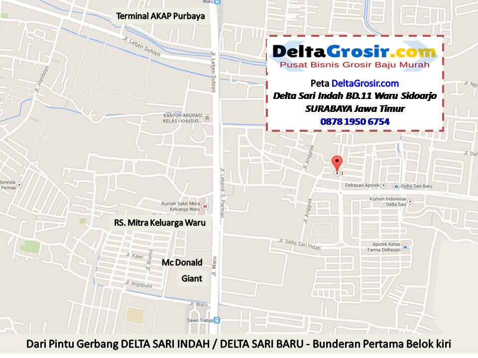 DeltaGrosir Alamat Kulakan Baju Daster TerMurah Di Surabaya