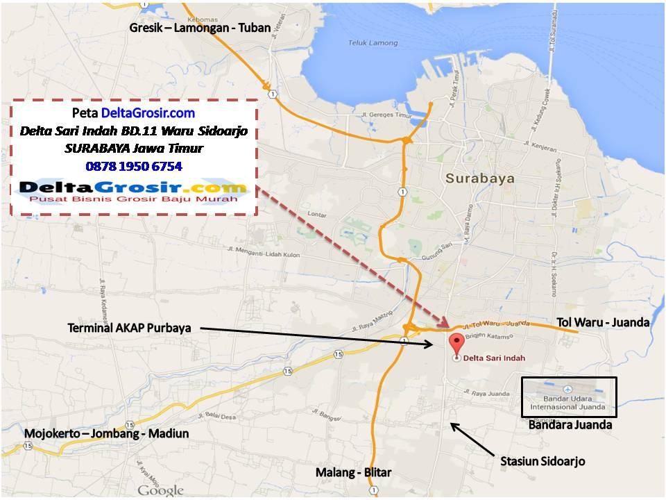 Alamat konveksi Baju Daster Murah Surabaya Delta Grosir