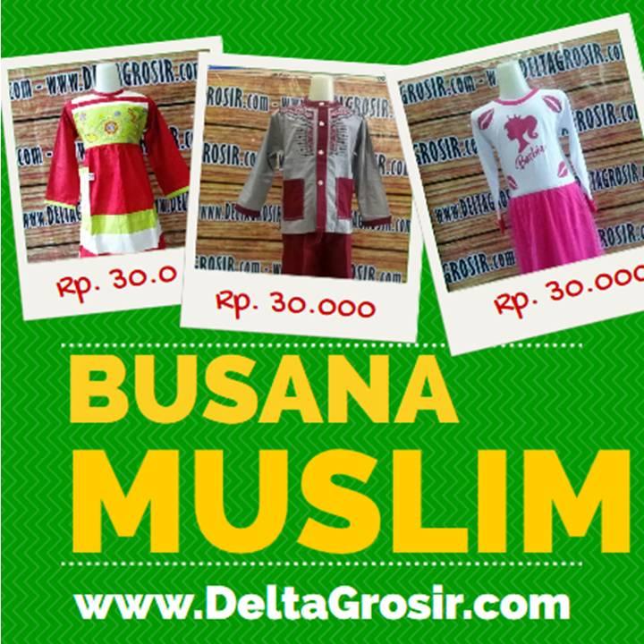 Grosir Baju Muslim Murah Gamis Koko Anak Rp. 35.000