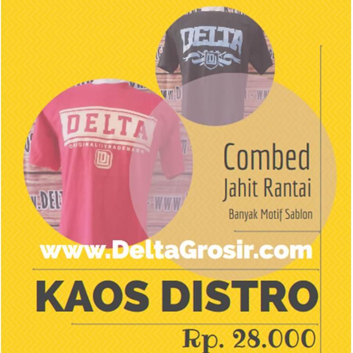 Grosir Kaos Distro Paling Murah Rp. 27.000 Surabaya