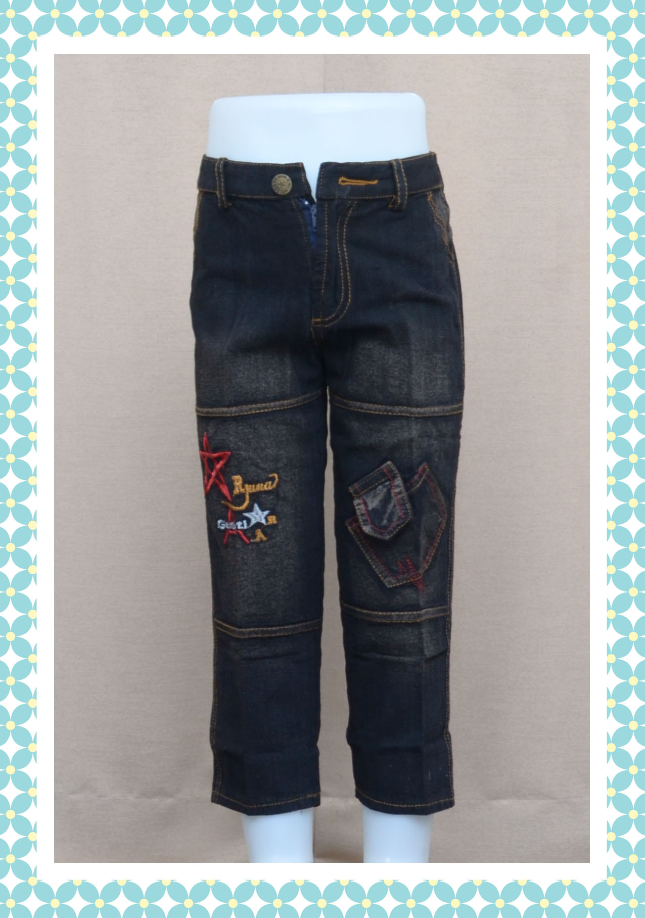 Jeans panjang anak cowo