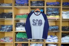Grosir Kaos Raglan Tangan Panjang harga Rp. 19,000