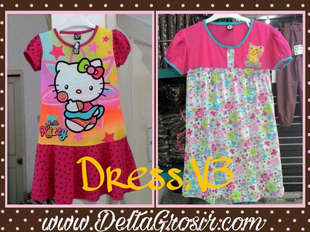 Pusat Kulakan Dress V3 Anak Termurah Surabaya