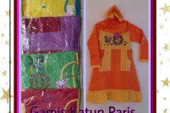 Pusat Kulakan Gamis Catton Paris Anak Terbaru Murah