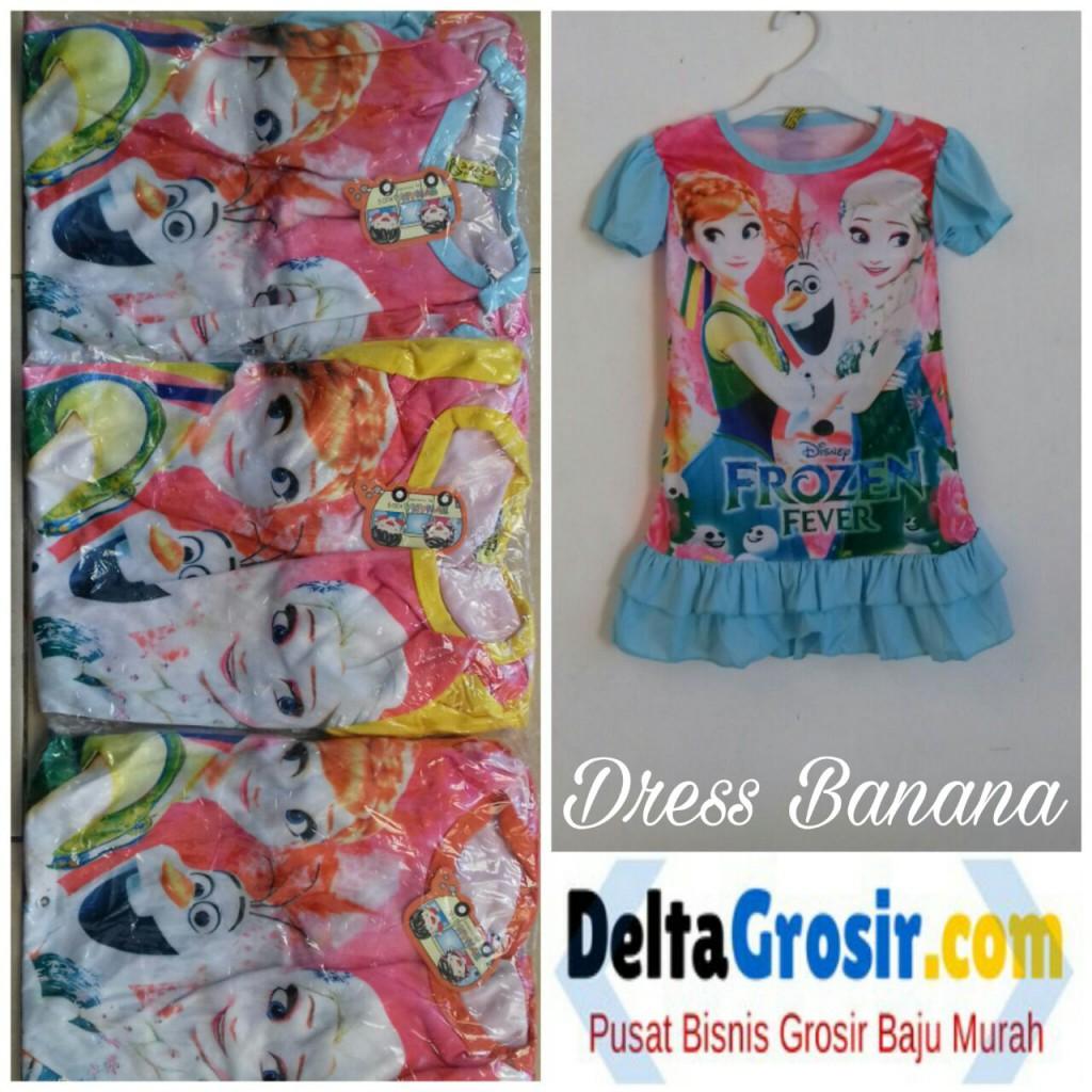 Sentra Grosir Dress Banana Terbaru Murah Surabaya