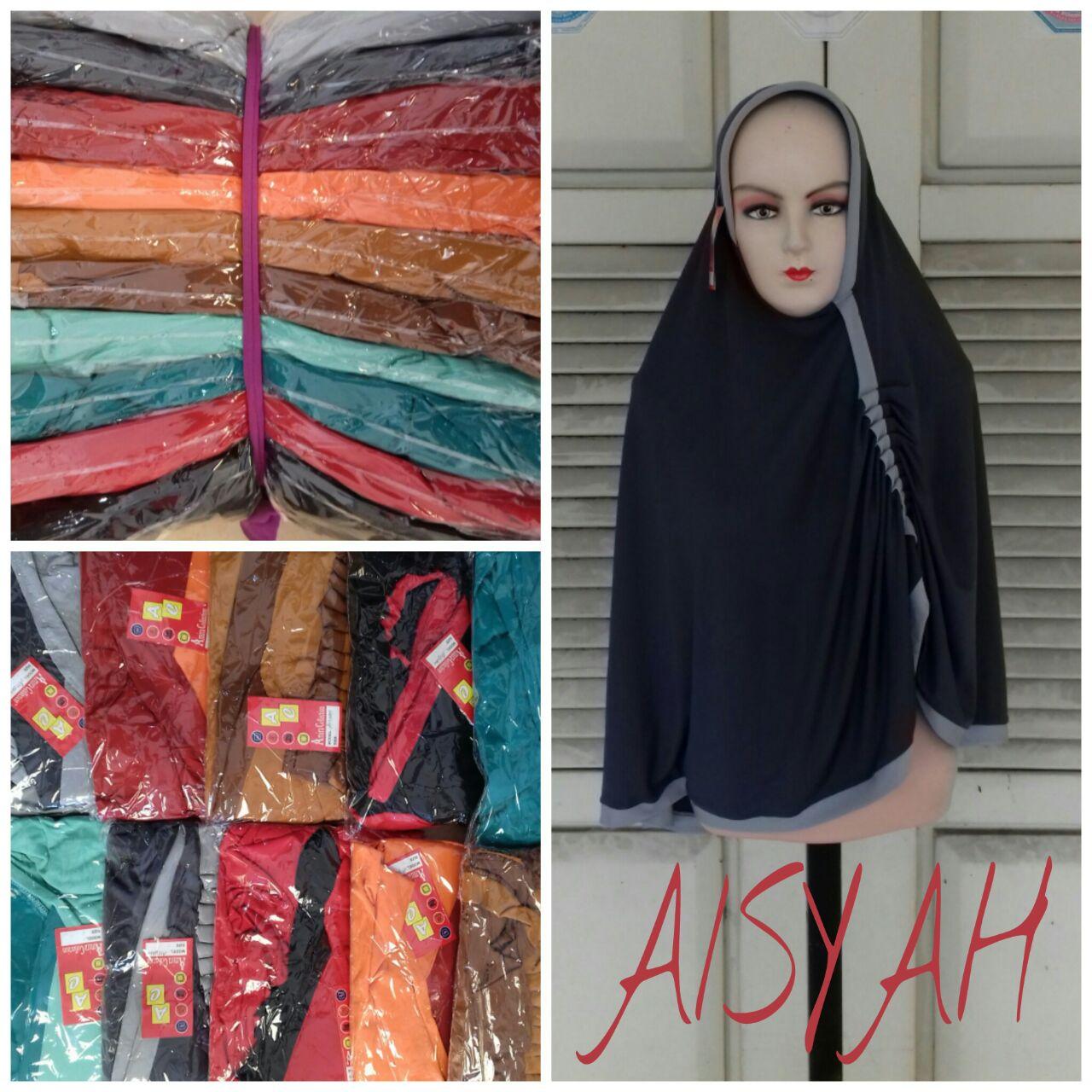 Sentra Kulakan Jilbab Aisyah Tebaru Modern Murah 26Ribu