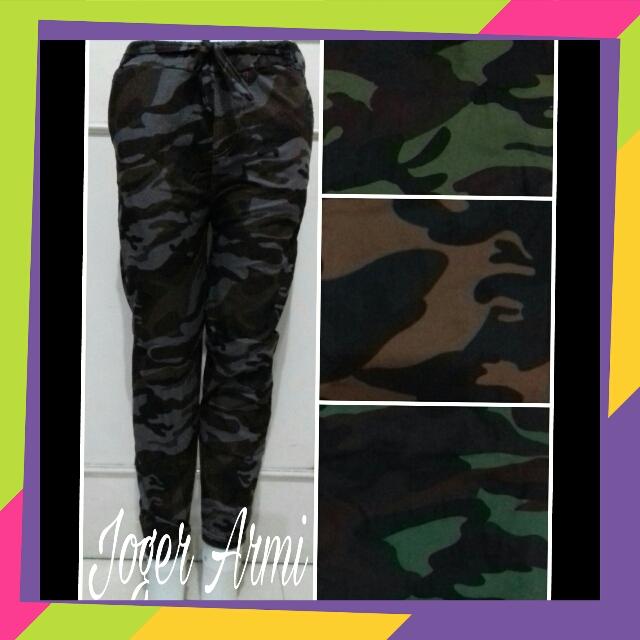 Sentra Kulakan Celana Jogger Army Termurah 24Ribuan