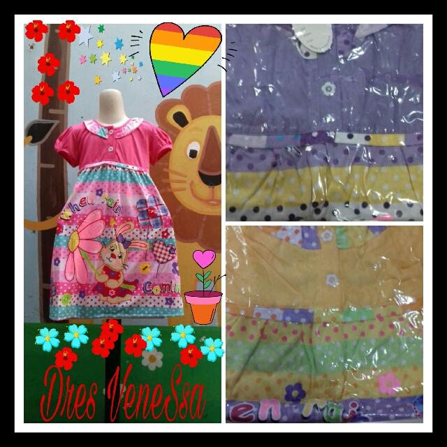 Pusat Kulakan Dress vanessa Anak Perempuan Termurah 23Ribu