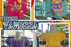 Kulakan Dress Vanessa Anak Karakter Murah Surabaya