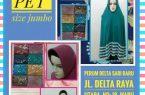 Pusat Kulakan Jilbab Syari Pet Jumbo Murah Surabaya