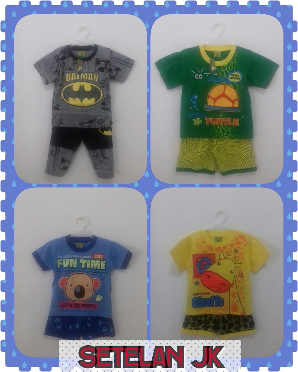 Sentra Kulakan Baju Setelan Anak Laki Laki Termurah Mulai 21Ribu