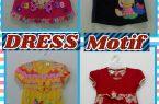 Sentra Kulakan Dress Motif Anak Karakter Murah