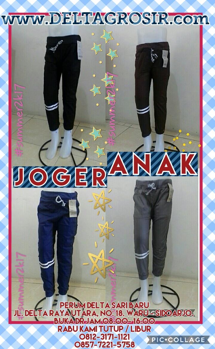 Pusat Kulakan Celana Jogger Stretch Anak Murah Surabaya 16Ribu