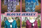 Kulakan Blouse Jersey Wanita Dewasa Murah