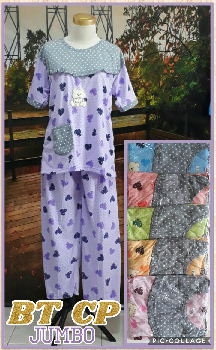 Produsen Baju Tidur CP Jumbo Dewasa Murah Surabaya 33Ribu