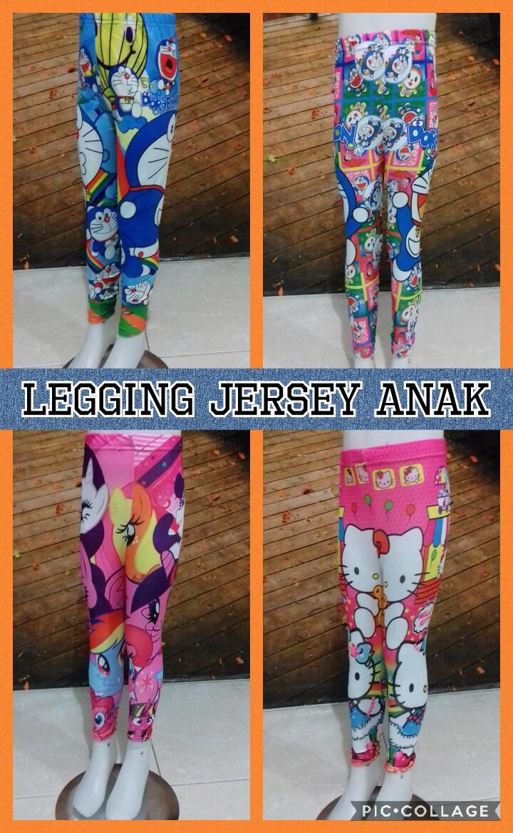 Pabrik Celana Legging Jersey Anak Murah Surabaya 18Ribu