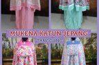 Supplier Mukena Katun Jepang Tanggung Murah Surabaya 78ribuan