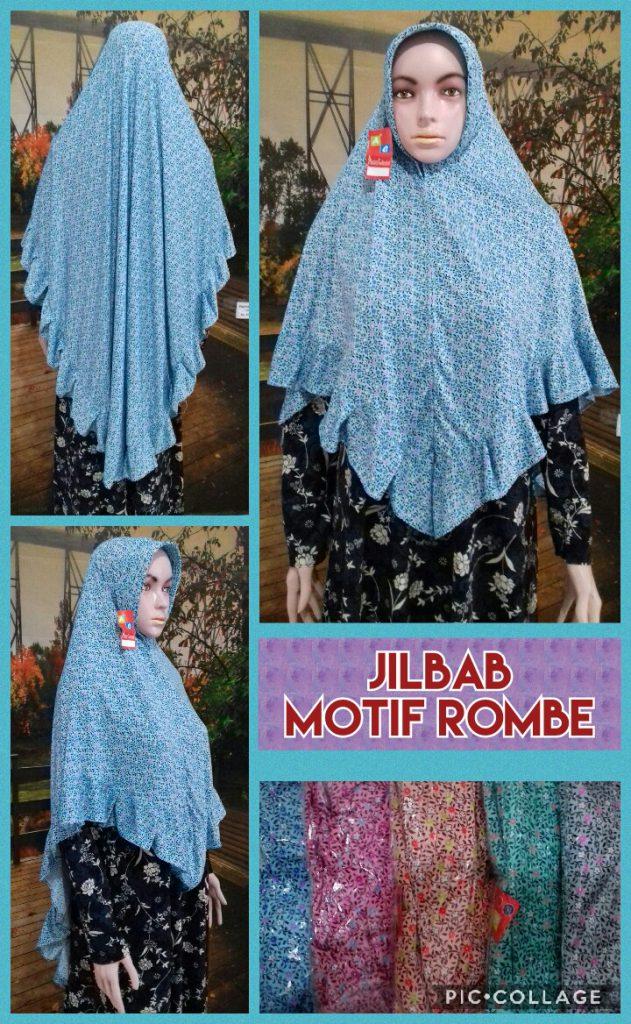 Produsen Jilbab Motif Rombe Murah Surabaya 28 ribuan