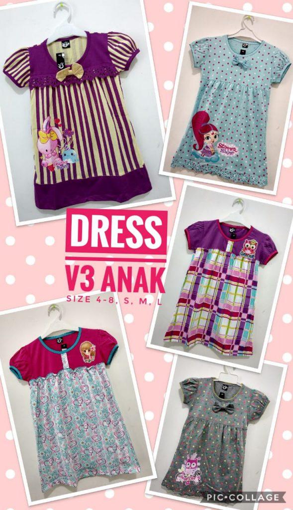 Grosir Dress Anak Terbaru Murah 28ribuan