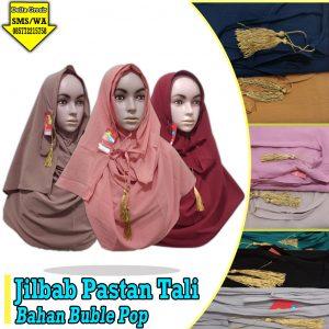 Distributor Jilbab Pastan Tali Murah 26ribuan