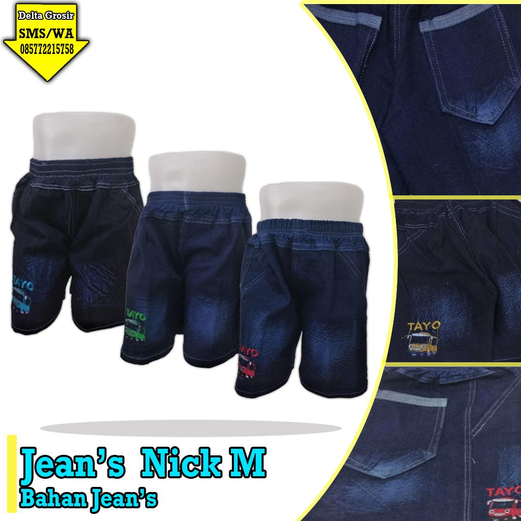 Grosir Celana Jeans Nick Anak Murah 20ribuan