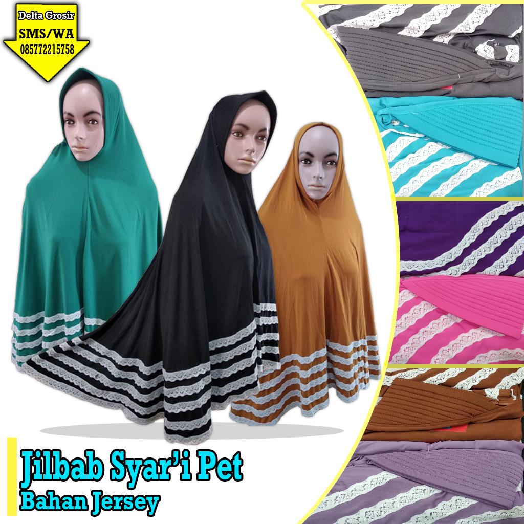 Supplier Jilbab Dewasa Syar'i Murah 35ribuan