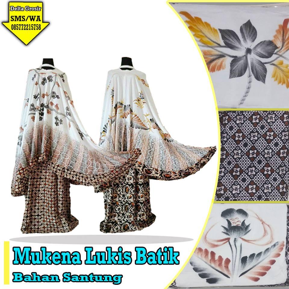 Supplier Mukena Lukis Batik Murah 75ribuan