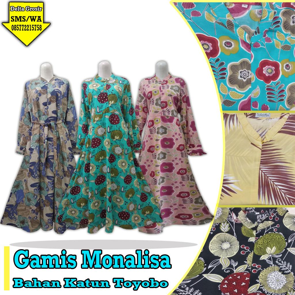 Pabrik Gamis Monalisa Dewasa Murah di Surabaya