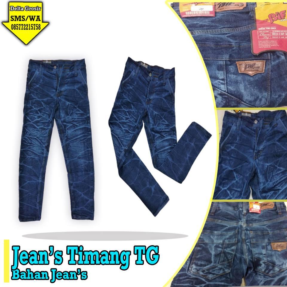 Pabrik Celana Jeans Timang Tanggung Murah 50ribuan