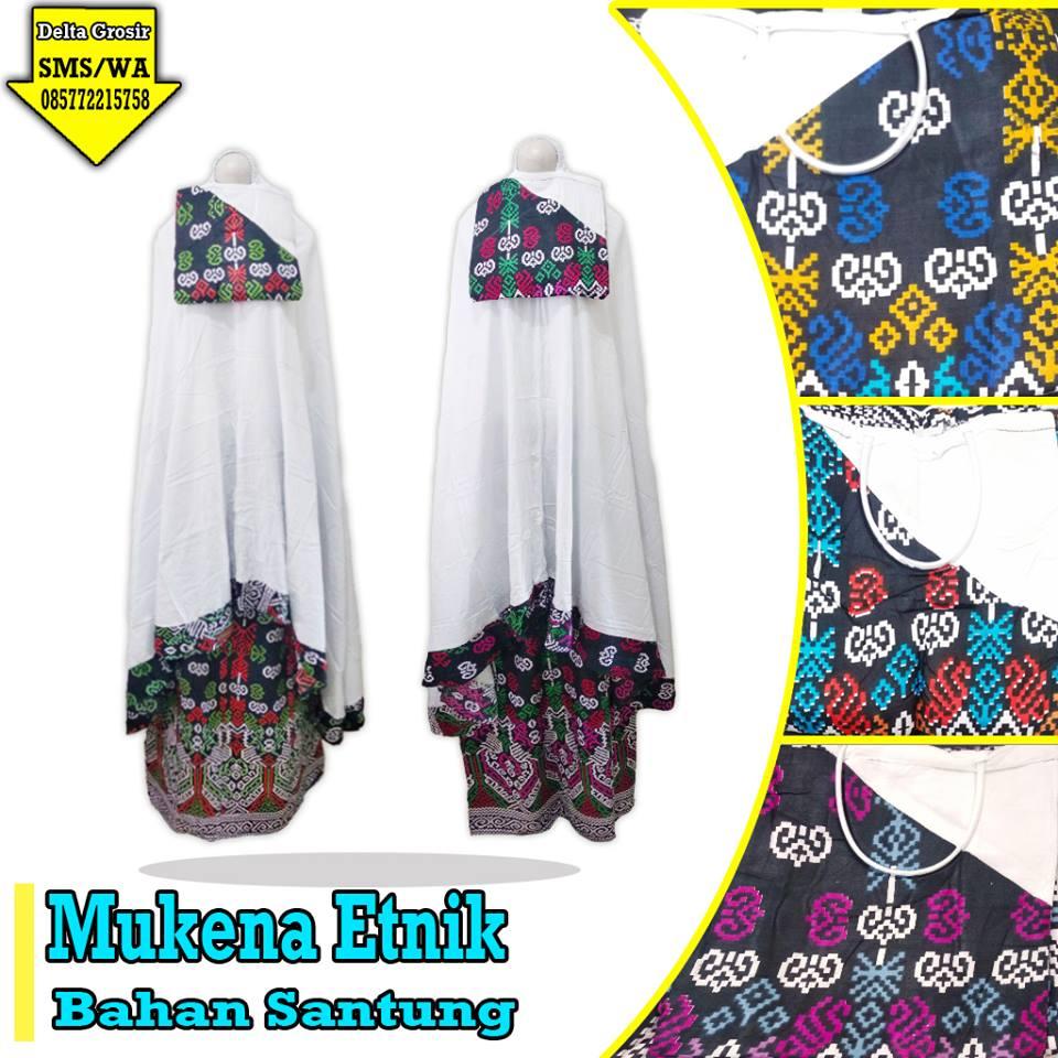 Distributor Mukena Etnik Dewasa Murah 65ribuan