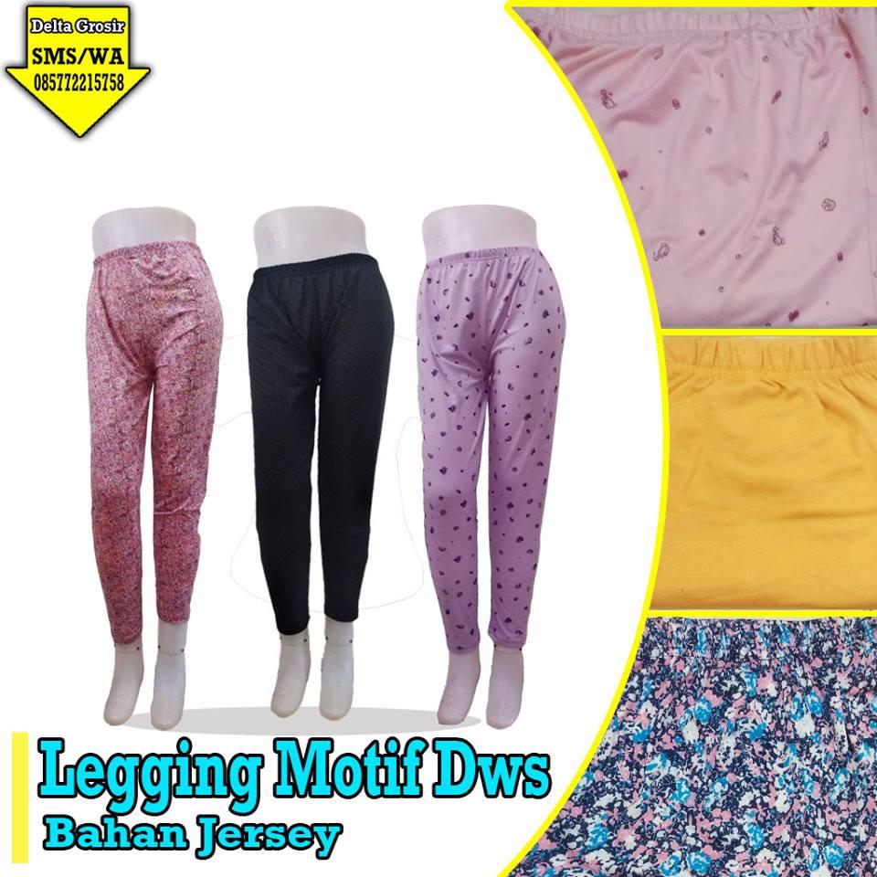 Distributor Legging Motif Dewasa Murah di Surabaya
