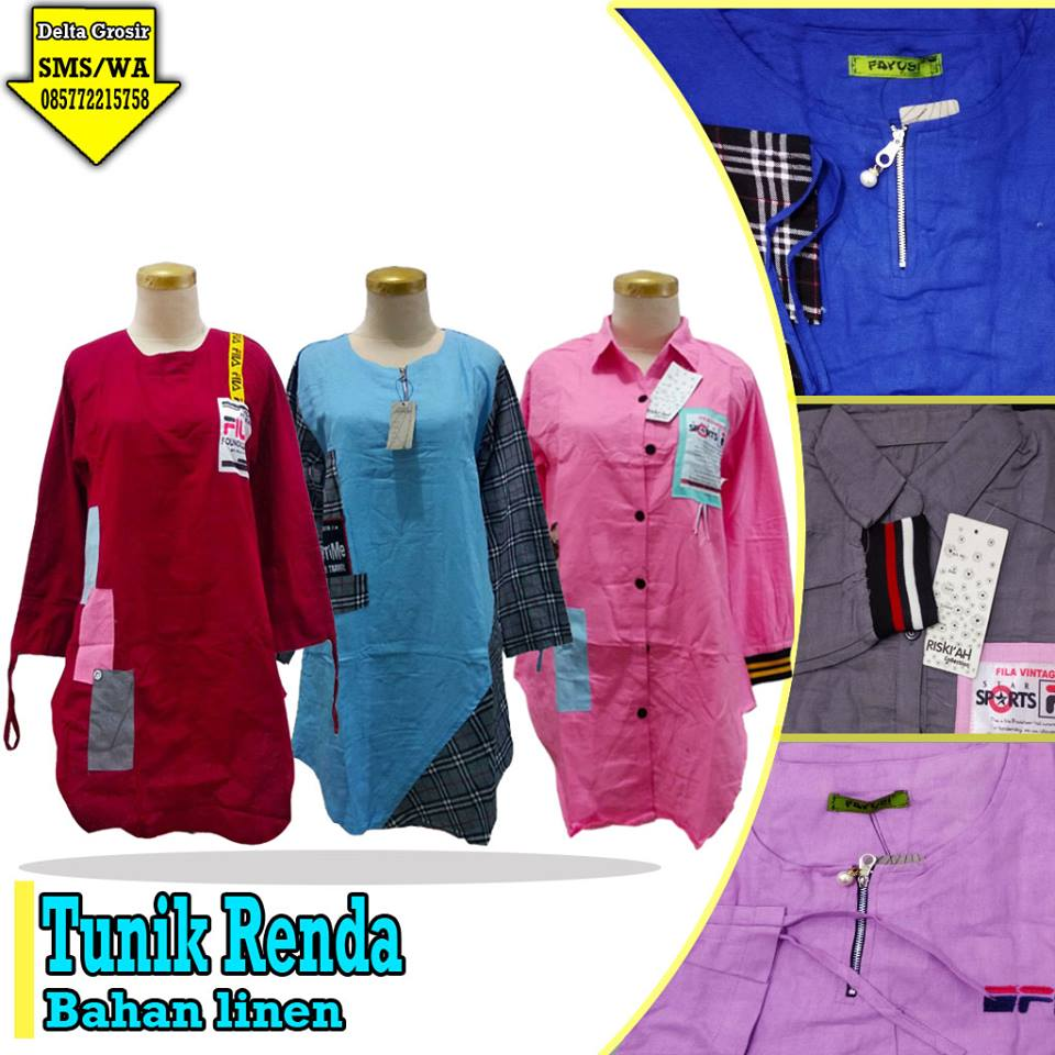 Supplier Tunik Renda Dewasa Murah 60ribuan