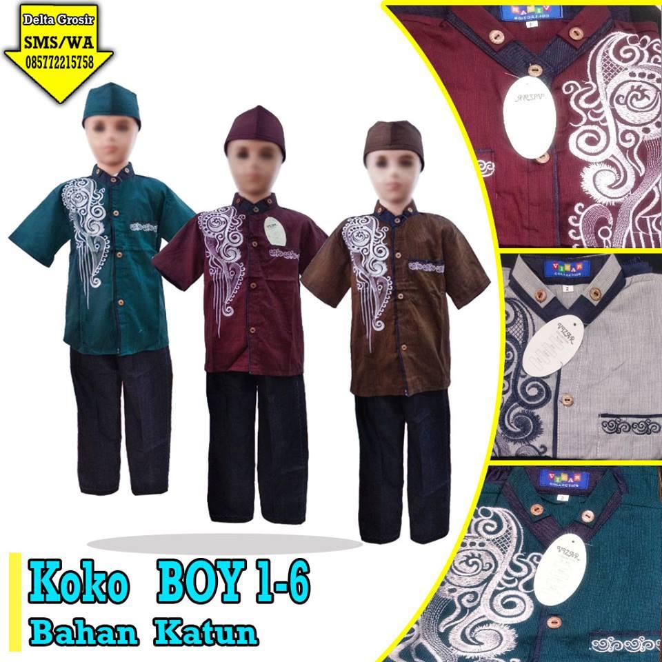 Pabrik Koko Boy Anak Murah 63ribuan