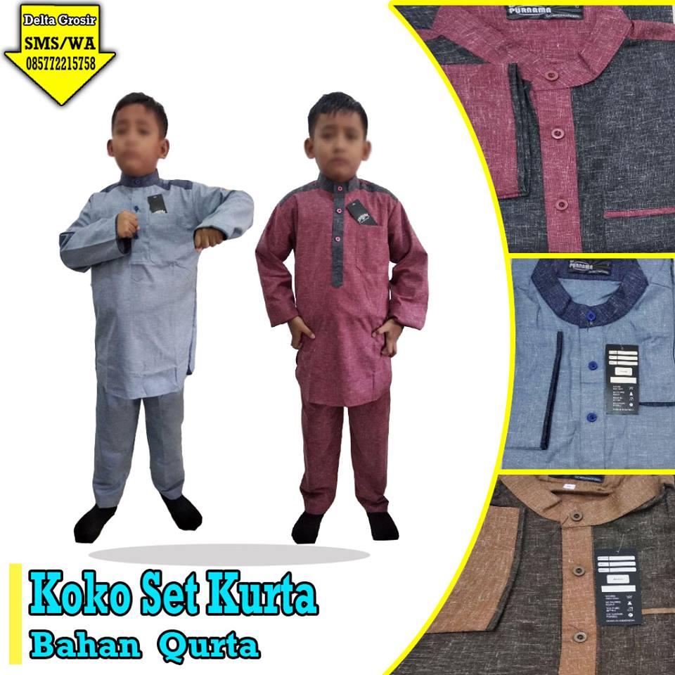 Pabrik Setelan Koko Qurta Anak Murah di Surabaya