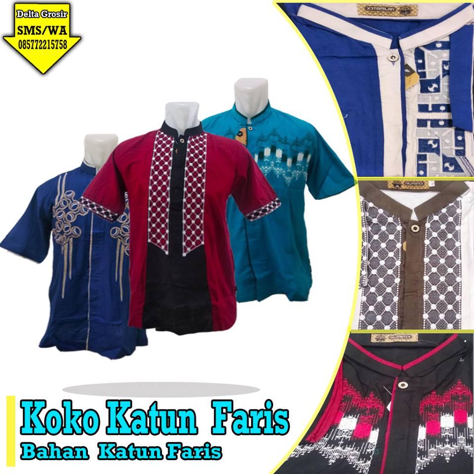 Supplier Koko Katun Faris Dewasa Murah di Surabaya