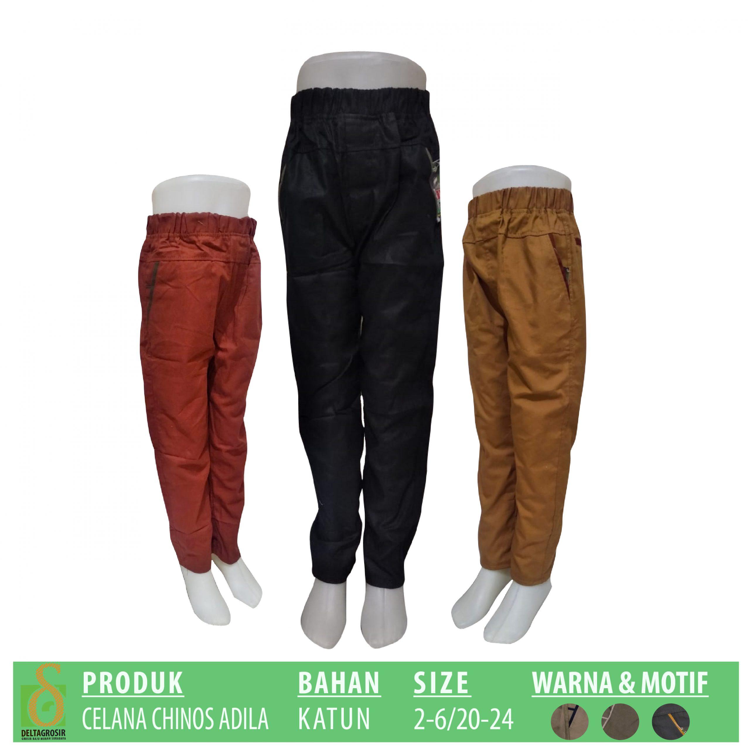 Distributor Celana Chinos Anak Murah 21ribuan