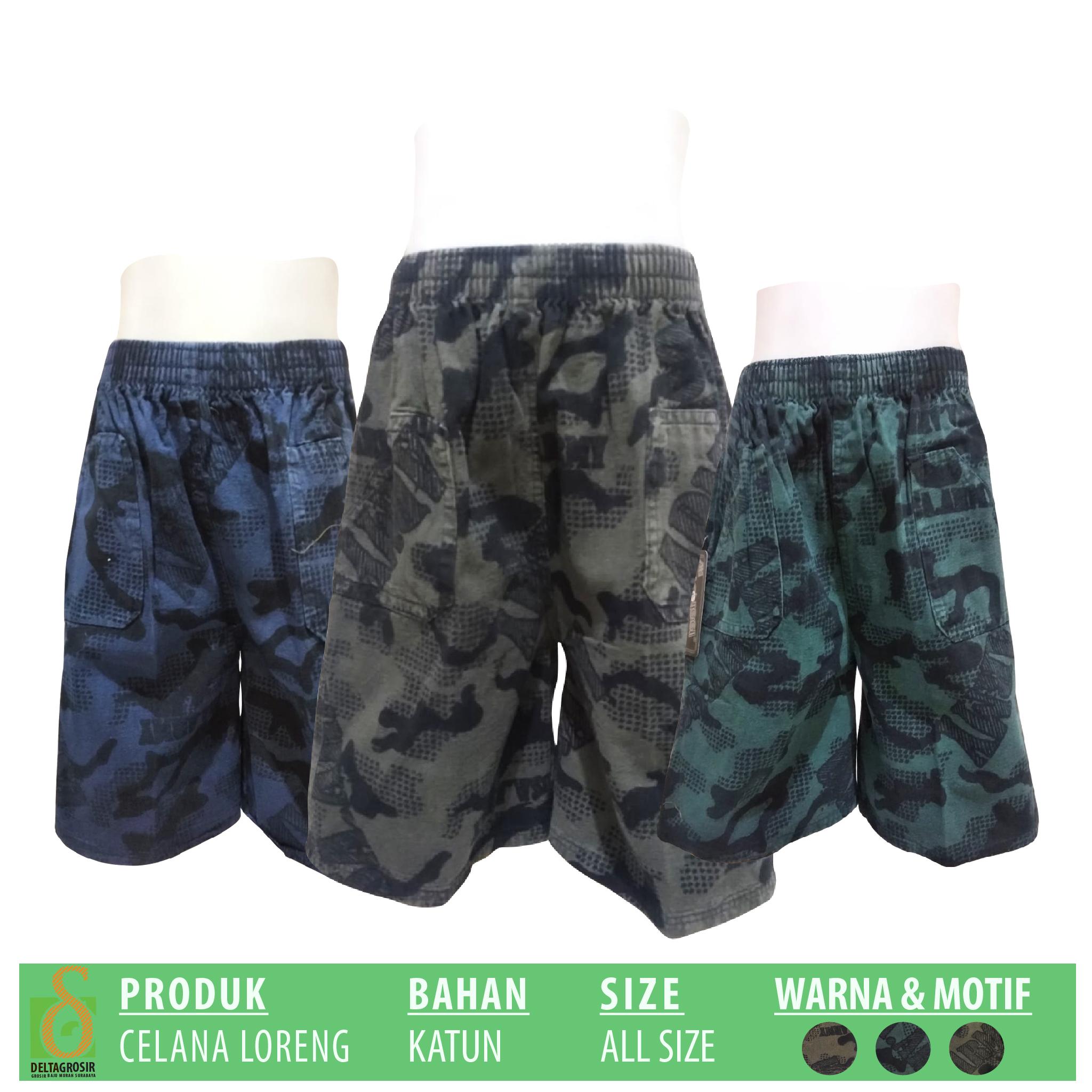 Distributor Celana Loreng Anak Murah 15ribuan