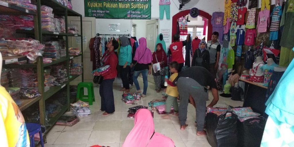 Peluang Usaha Grosir Baju Anak Daster Murah Surabaya